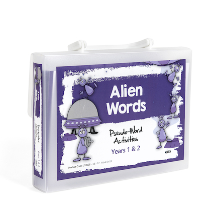 Pseudo Words Activity Cards A5  large