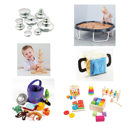 Babies and Toddlers Tuff Tray and Stand Bundle  large