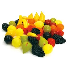 Role Play Plastic Fruit 48pcs  medium