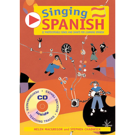 Singing Spanish Songs Book and Audio CD  large