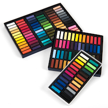 Faber-Castell Half Length Soft Pastels Assorted   medium