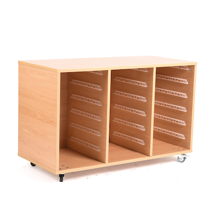 18 Shallow Tray Storage Unit Without Trays  large