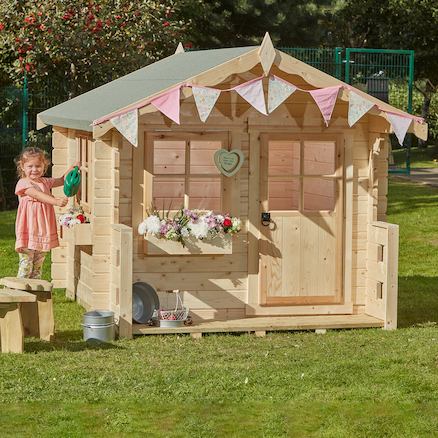 Log Cabin Playhouse  large