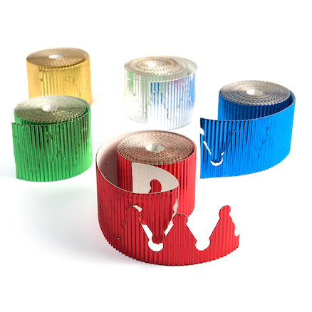 Assorted Metallic Crown Shaped Rolls 5pk  large