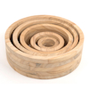 Wooden Nesting Rings 5pk  small