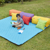 Large Outdoor Yellow Mat 200 x 200cm  small