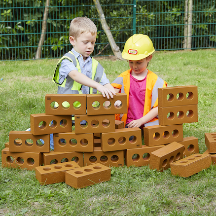 Role Play Foam House Building Bricks  large
