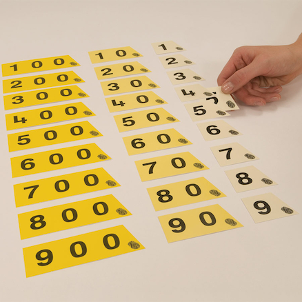 Colour Coordinated Decimal Cards 30pk  large
