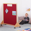 Wooden Framed Floor Standing Display Board  small