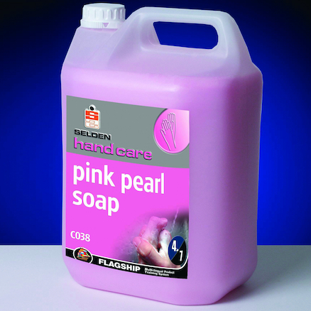 Pink Pearl Liquid Hand Soap 2 x 5ltr  large
