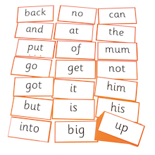 Phases 2-5 Indestructible High Frequency Words  medium