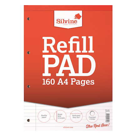 A4 Ruled Refill Notepad  large