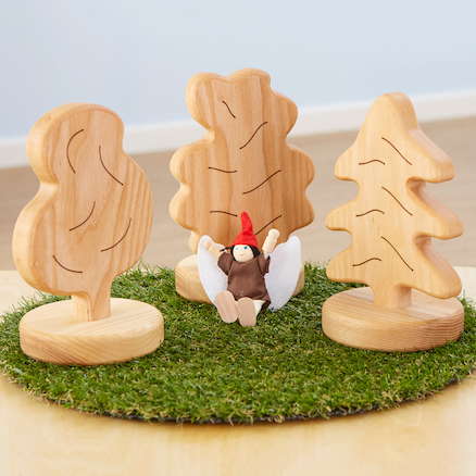 Small World Wooden Trees  large