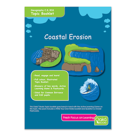 KS3 Coastal Erosion Revision Activity Cards 10pk  large