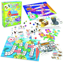 Letter Sound Phonic Games 6pk  medium