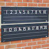 Outdoor Chalkboard Number Line 1\-20  small