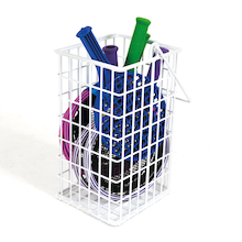 Rounders Bat Wire Basket  medium