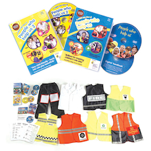 People Who Help Us Writing Pack DVD and Kit 8pk  medium