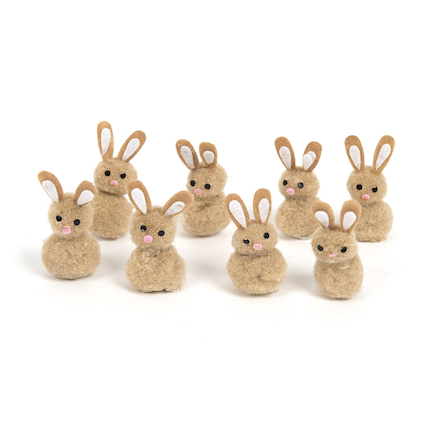 Bunny and Lamb Decorations 16pk  large
