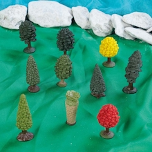 Small World Trees 10pcs  medium