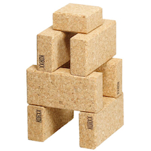 Cork Building Blocks Multibuy  medium