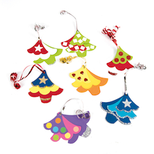 Triple Tree Christmas Decorations  medium