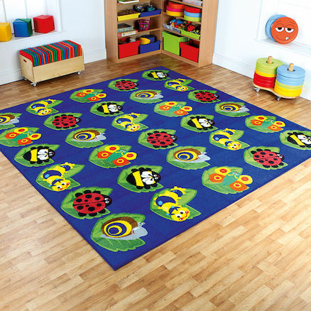 Back to Nature Square Floor Mat L3 x W3m  large