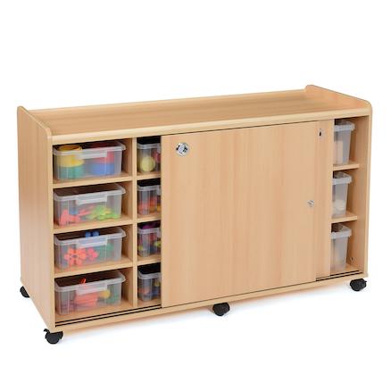Safe Sturdy Tray Storage Units 8 Shallow / 6 Deep Large ...