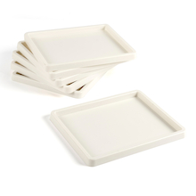 Shallow White Plastic Inking Tray  medium