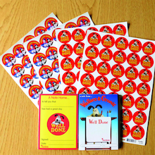 Wallace and Gromit Stickers and Certificates  medium