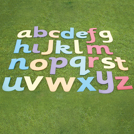 Giant Foam Alphabet Lowercase Letters 26pcs  large