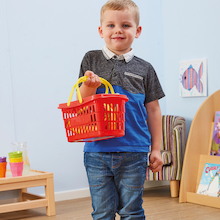 Role Play Shopping Baskets  medium