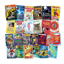 Year 5 Fantasy Adventure and Sci Fi Books 25pk  medium