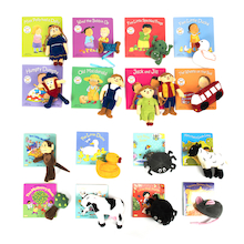 Take Home Rhyme Book and Toy Set Offer 16pk  medium