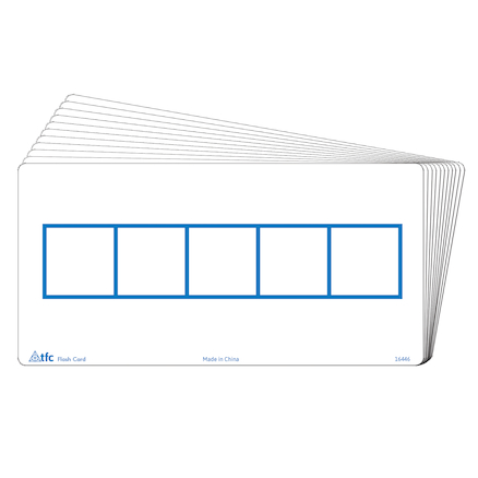 Five Frames Write \x26 Wipe Flash Cards  large