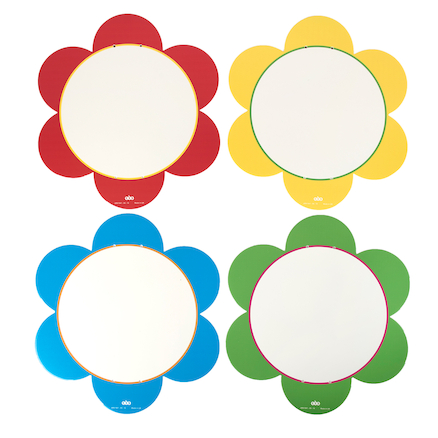 Outdoor Whiteboard Mark Making Daisies 4pk  large