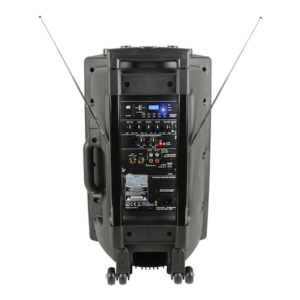 QR Series Portable Powered PA Unit QR12PA 12 Inch  large