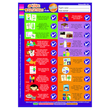 Science Target Stickers Years 1 to 6  medium