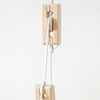 Outdoor Wooden Mini Pulley System  small