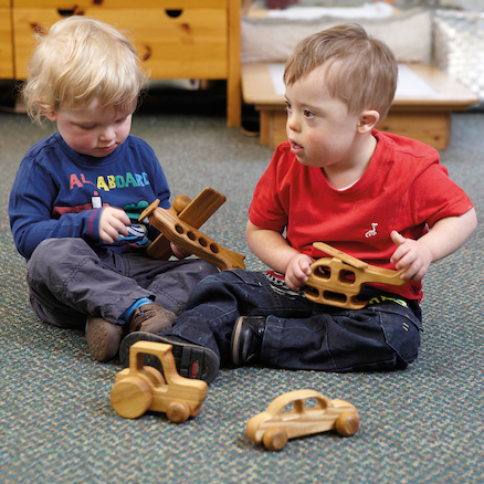 Wooden Vehicles 4pk  large