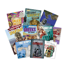 The Ancient Greeks Book Pack 10pk  medium