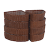 Millhouse Corner Wicker Baskets  small