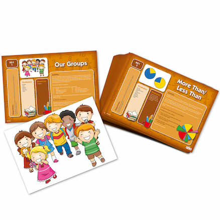 Fractions Action Activity Cards  large