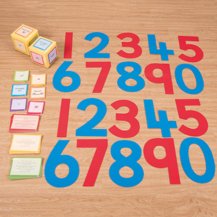 Outdoor Number Activity Kit  large