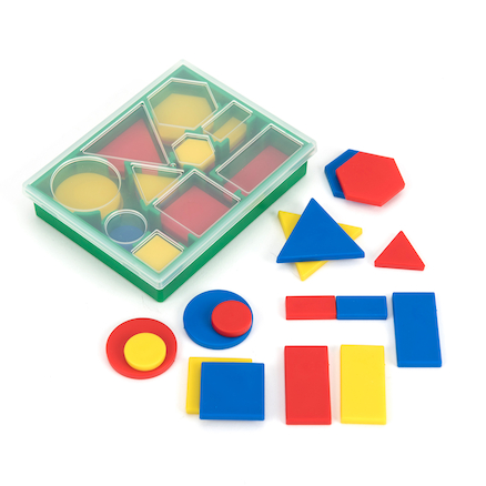 Shapes and Size Attribute Set 60pcs  large