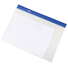Clear Zip Wallets Pack of 25  small