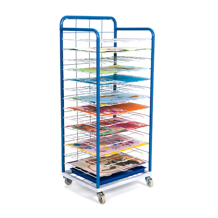Fixed Shelf Mobile Dryer  large