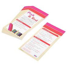 Colour Band Comprehension Bookmarks  medium