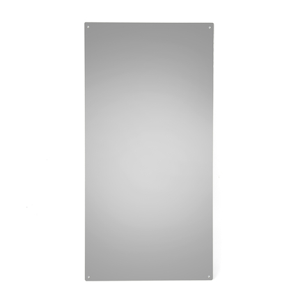 Rainbow Wall Mirror Silver 80 x 40cm  large
