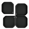 Messy Trays Black 4pk  small